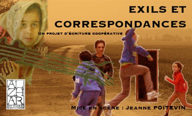 Visuel du projet EXILS ET CORRESPONDANCES