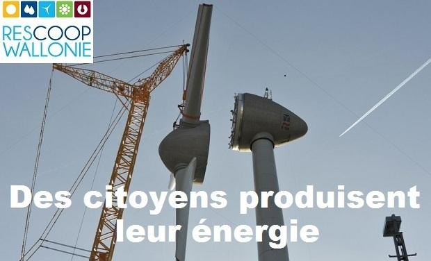 Visuel du projet Des citoyens produisent leur énergie