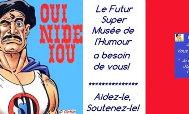 Project visual L'Agence Humour Attitude (A.H.A) ®, L'Humour en tous sens!
