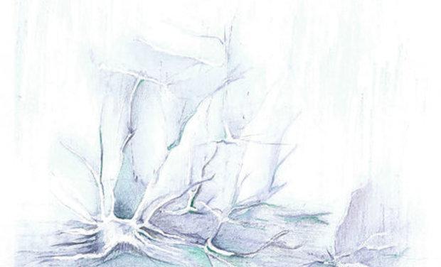 """Visuel du projet XCIII EP """"Event Horizon"""""""