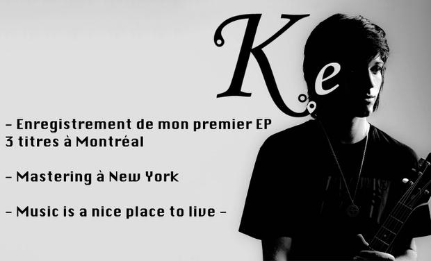 Visuel du projet Mon premier album EP