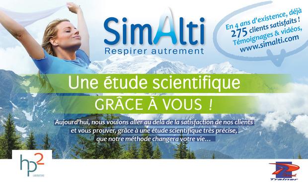 Project visual Etude Scientifique SimAlti