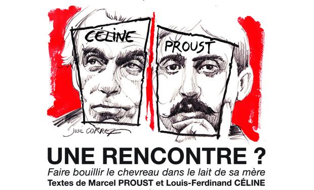 Visuel du projet Céline/Proust: une rencontre ?