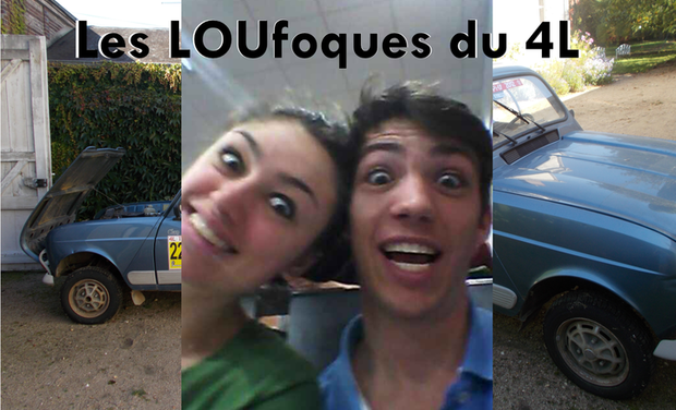 Visueel van project les LOUfoques du 4L