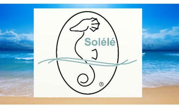 Visueel van project Solélé... Le premier drap de plage convertible...