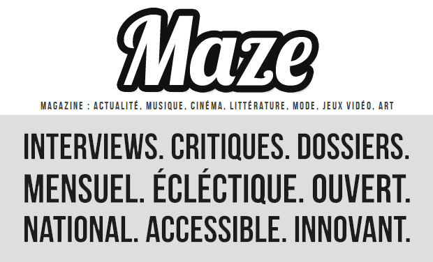 Project visual Maze Magazine - Nouvelle Formule !