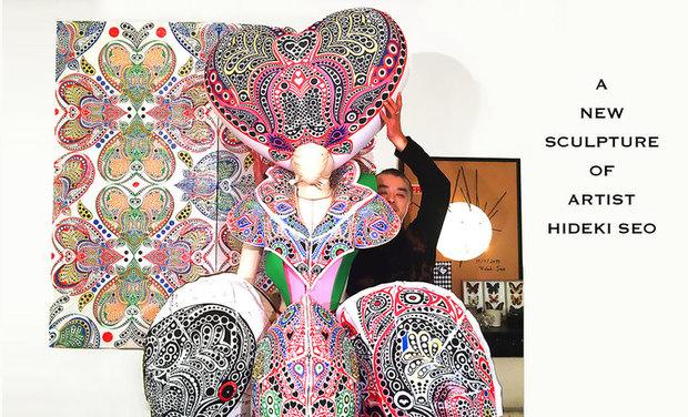 Visuel du projet A new sculpture of artist Hideki Seo