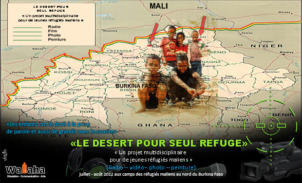 Project visual Le désert pour seul refuge