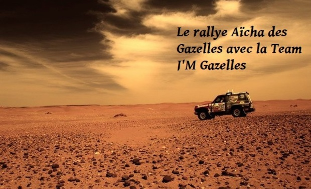 Visueel van project Le rallye Aïcha des Gazelles avec la Team J'M Gazelles