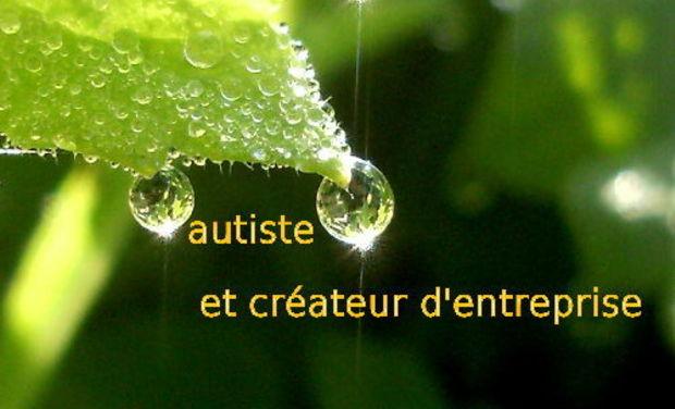 Visuel du projet autiste et créateur d'entreprise