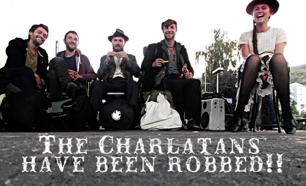 Visueel van project The Charlatans have been robbed!!