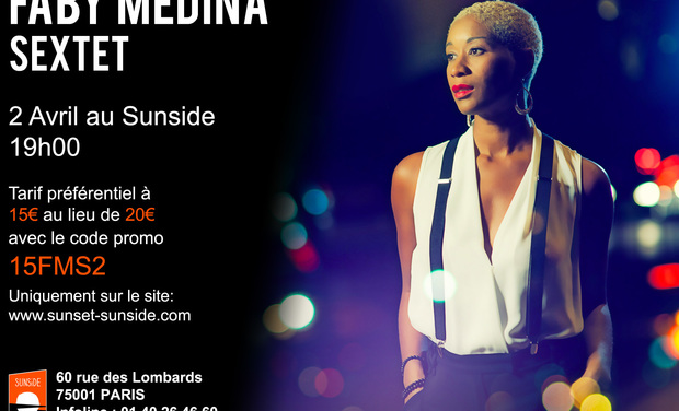 Visuel du projet Faby Médina 1er album