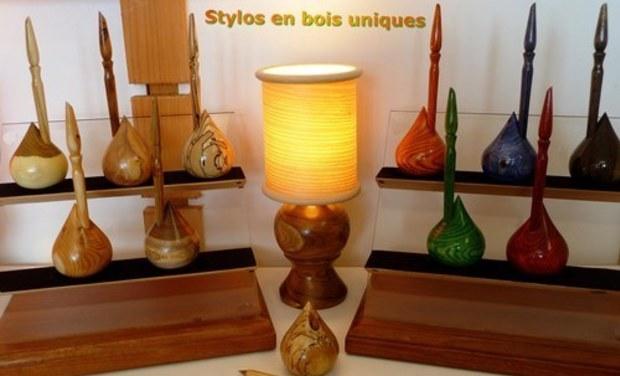 Visuel du projet Stylos en bois uniques !