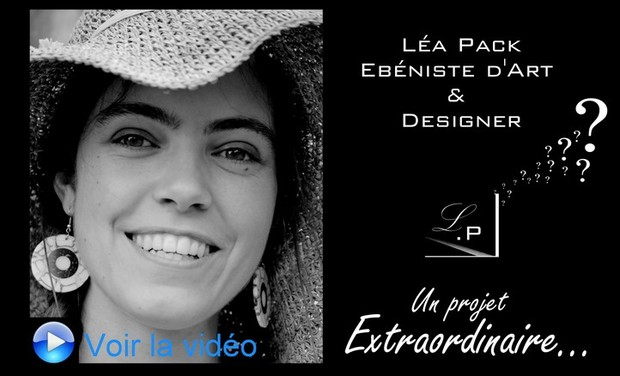 Project visual La coiffeuse redessinée par Léa Pack Ebéniste d'Art