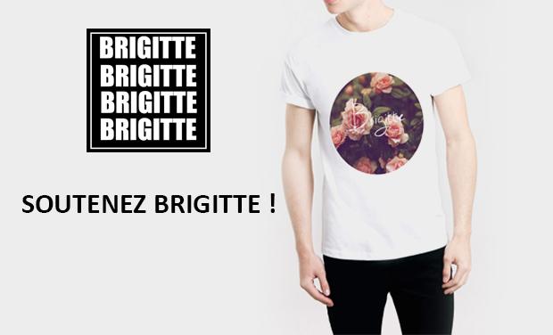 Visuel du projet Brigitte Clothing la nouvelle marque de Tee shirt !