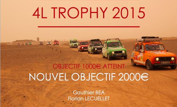 Visuel du projet 4L Trophy : Piston in the Sand