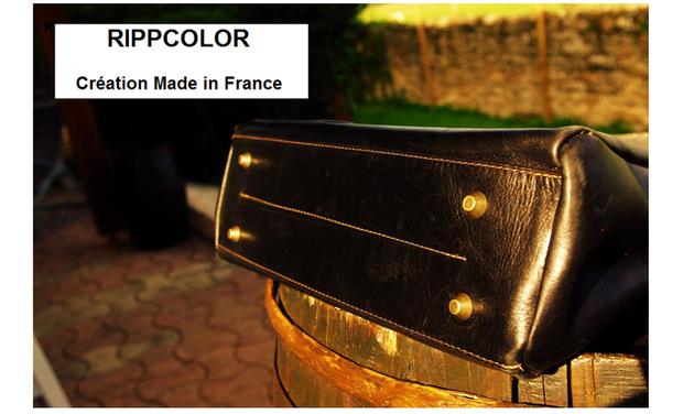 Visueel van project Chic et pratique en quelques clics ! Des sacs en cuir, multifonction, fabriqués en France