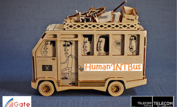 Visueel van project Human'INT Bus