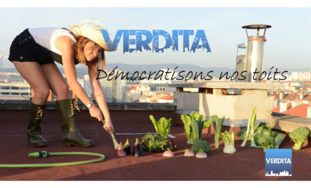 Project visual VERDITA - Démocratisons nos toits