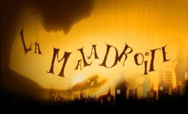 """Visuel du projet La Maladroite - 1er EP 6 titres """"Frappe à ma porte!"""""""