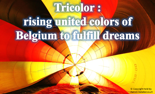 Visuel du projet Tricolor: rising united colors of Belgium to fulfill dreams