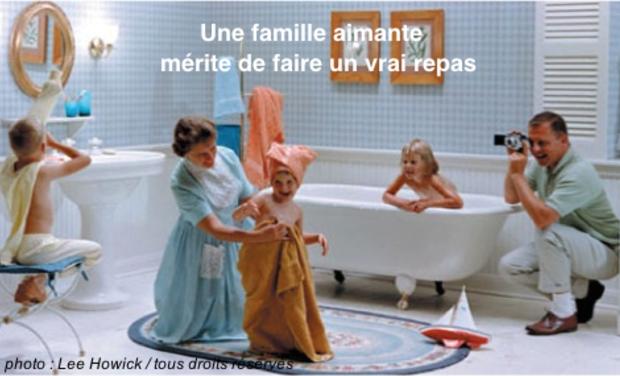 Visuel du projet Une famille aimante mérite de faire un vrai repas (texte de Julie Aminthe)