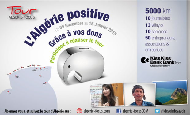 Visueel van project Algérie-Focus Tour 2014