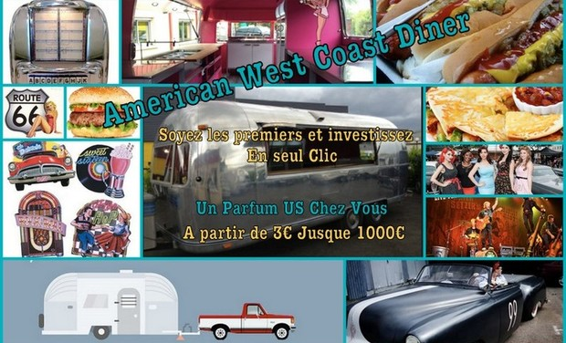 Project visual Américan west coast Diner