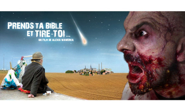 "Visueel van project ""Prends ta bible et tire toi... / Take your Bible and run..."""