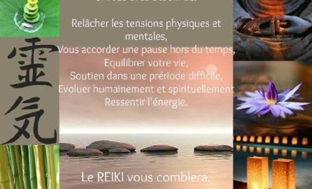 Visueel van project REIKI Soins énergétiques