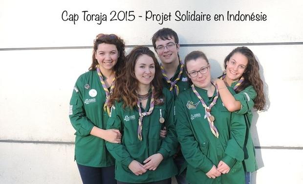 Visueel van project Cap Toraja 2015 - Projet Compagnons de Liffré