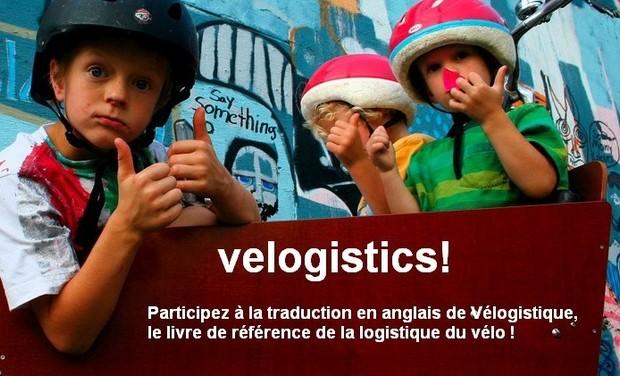 Visuel du projet Traduction en anglais du livre Vélogistique