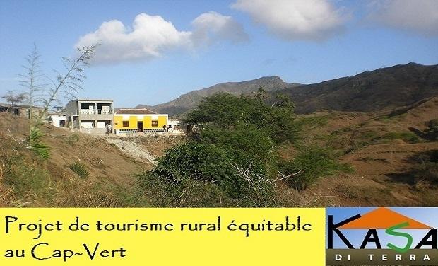 """Visuel du projet """"Kasa di Terra"""", tourisme équitable au Cap-Vert"""