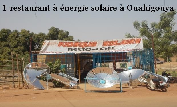 Visuel du projet 1 restaurant solaire à Ouahigouya, Burkina Faso