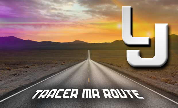 "Project visual TRACER MA ROUTE "" LE CLIP """