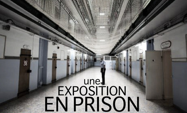 Project visual UNE EXPOSITION EN PRISON