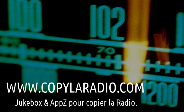 Visuel du projet CopyLaRadio # Enregistreur Radio/MP3 # Jukebox de Copie Privée
