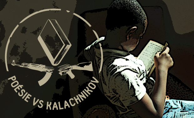 Visueel van project Poésie contre Kalachnikov