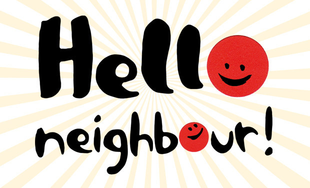 Visueel van project Hello neighbour ! le projet pour le Japon