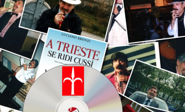 "Visueel van project ""LA MARISA, EL TRANVIER E 'CIANO!"" Best of Luciano Bronzi CD"