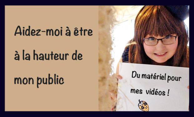 Visueel van project Du vrai matériel pour mes clips vidéos