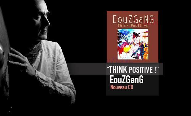 """Visuel du projet Nouveau CD  """"Think Positive ! """"."""
