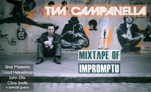 "Visueel van project Tim Campanella - 1st Album ""Mixtape of Impromptu"""