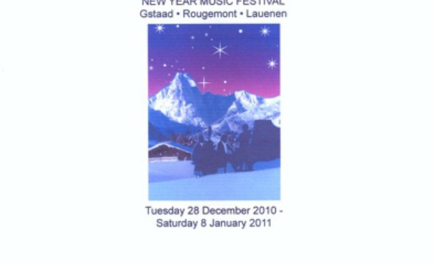 Project visual New Year Music Festival Gstaad Lauenen Rougemont