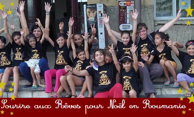 Visuel du projet Sourire aux Rêves pour Noël en Roumanie !