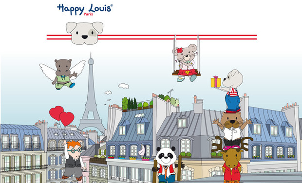 Visueel van project Happy Louis