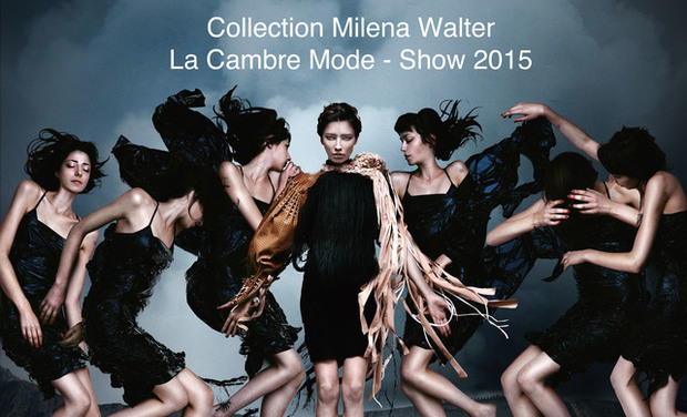 Project visual Collection de Milena Walter pour le défilé La Cambre Mode 2015