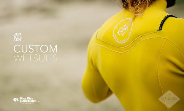 Visuel du projet SEN NO SEN custom surfing wetsuits