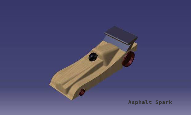 Project visual Asphalt Spark