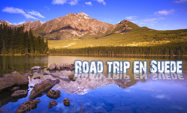 Project visual Road Trip en Suède